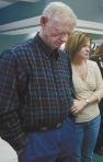 Sonny Grahamwith wife,Cheryl, whose previous husband committed suicide and gave Sonny his heart